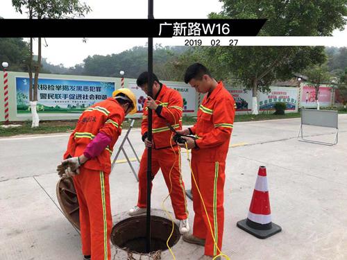 广新路管道检测修复